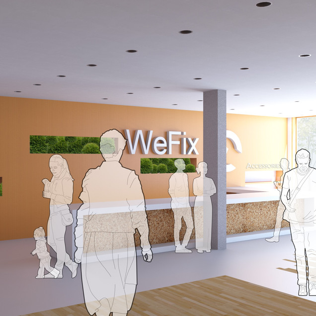 WeFix Pop Up