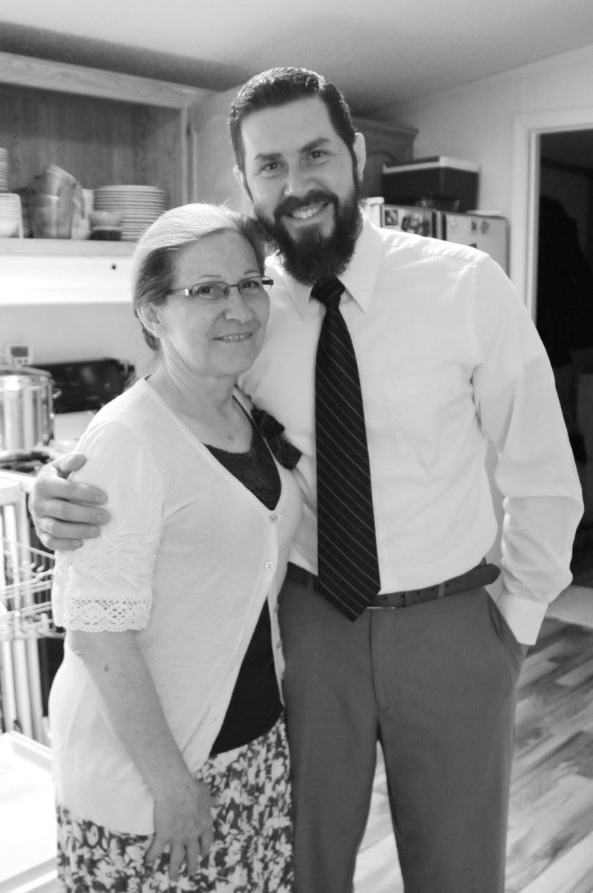 The Beard and His momma