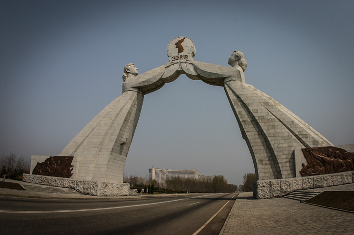 Unification Statue, Pyongyang