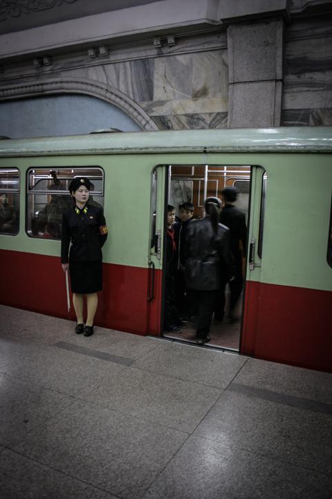 Pyongyang Subway
