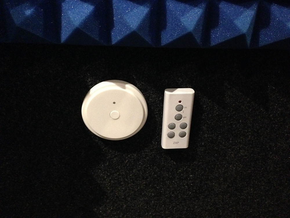 Light control and fan control remotes