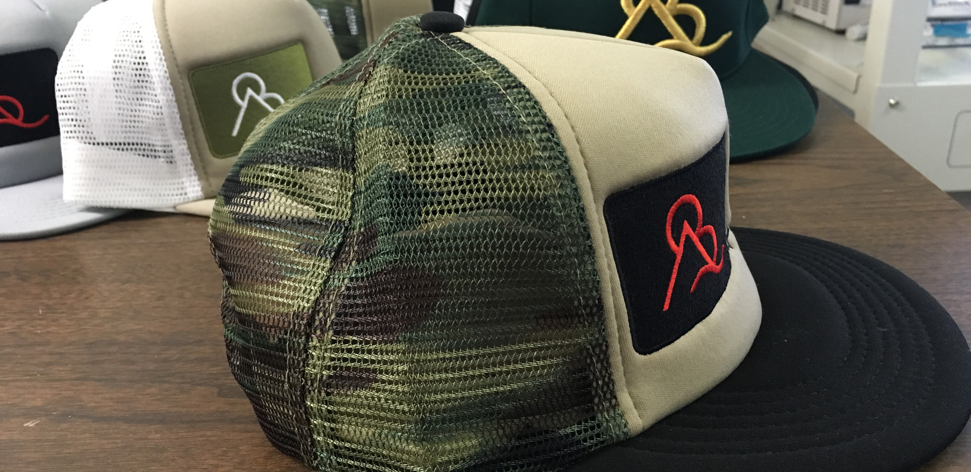 Embroidered hat project