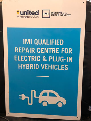 Qualified Repair Centre for Electric and Plug-in hybrid vehicles
