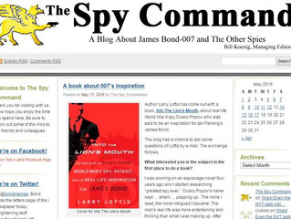 Interview with The Spy Command on the Origin of 007