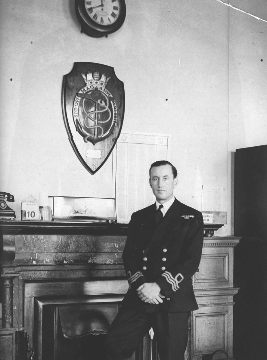 Lt. Commander Ian Fleming