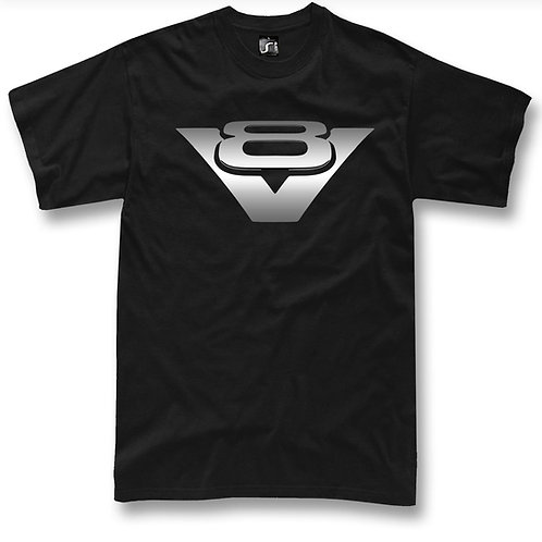 V8 Classic logo t-shirt