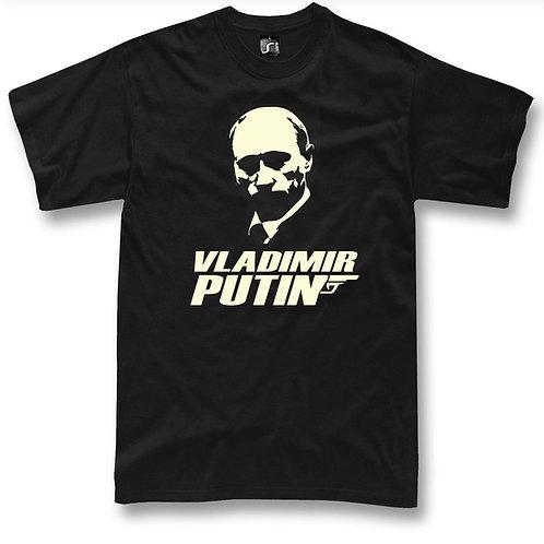 Vladimir Putin 007 t-shirt