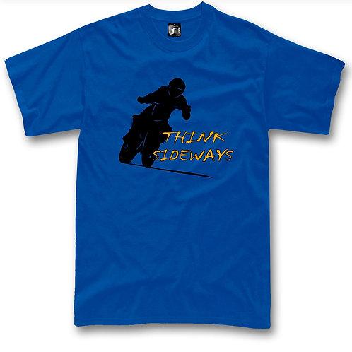 Motard Think Sideways  t-shirt
