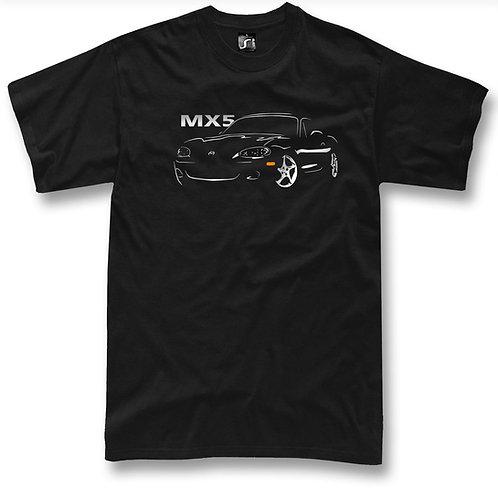 Miata MX5 t-shirt