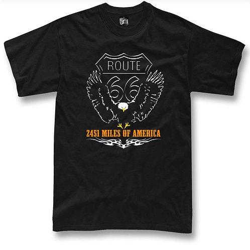 Route 66 custom eagle t-shirt