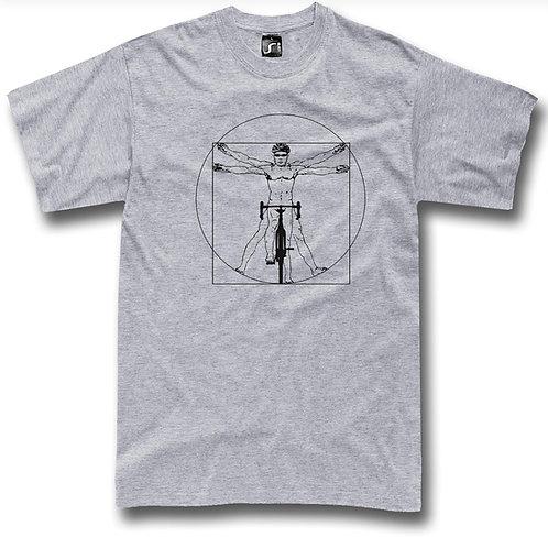 Da Vinci Cyclist t-shirt