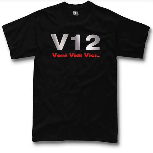 V 12 t-shirt