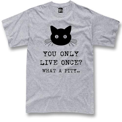 Cats Yolo funny t-shirt