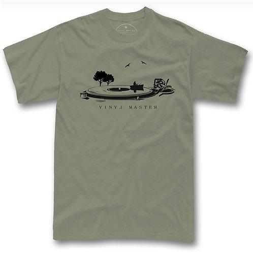 Vinyl Lake Art t-shirt