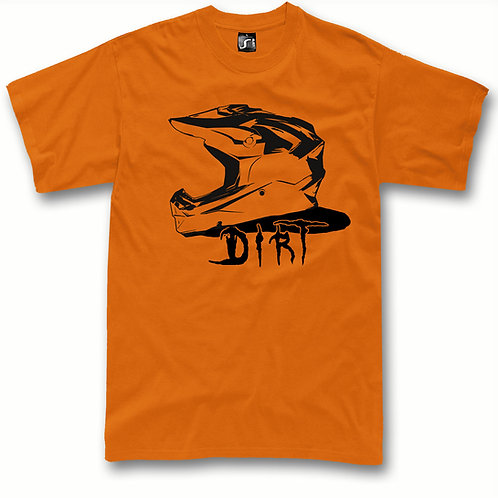 Motocross t-shirt Dirt Helmet MX bike t-shirt
