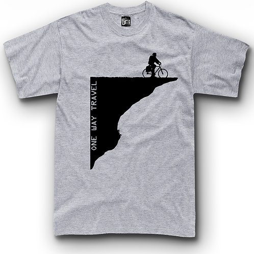 Cycling travel t-shirt