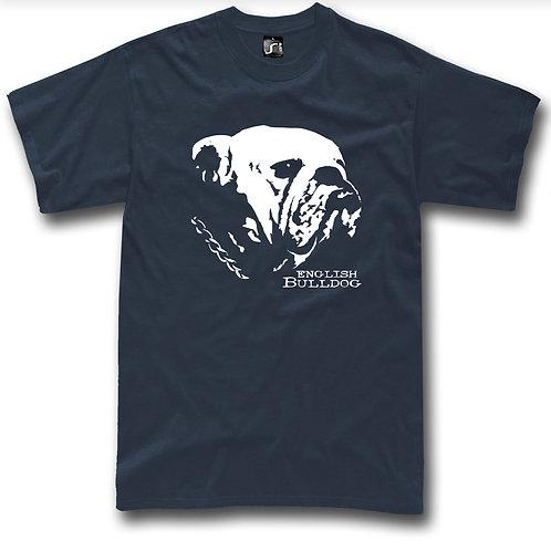 English Bulldog british dog t-shirt