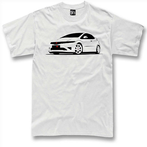Civic Type R White  t-shirt