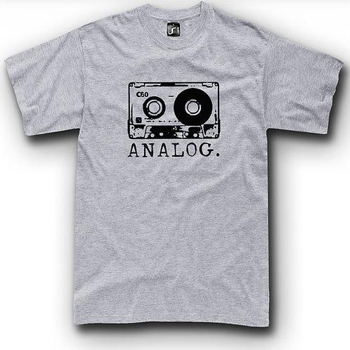 Cassette T-shirt classic 80's Analog retro t-shirt