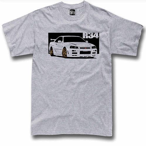 GT-R R34 Skyline t-shirt