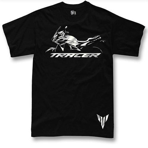 Yamaha Tracer t-shirt - Design 2 - Black