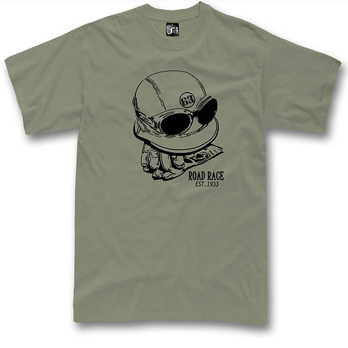 Classic moto Helmet t-shirt