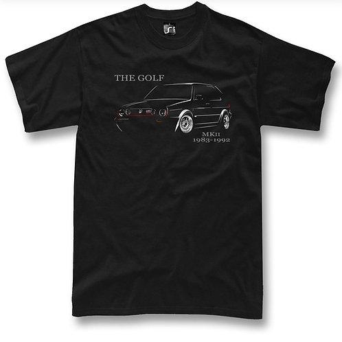 Golf Mk2 t-shirt
