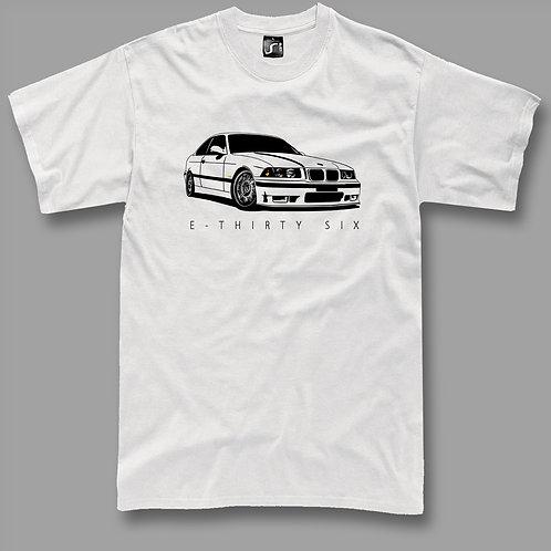 Bimmer E36 t-shirt(Silver rims)