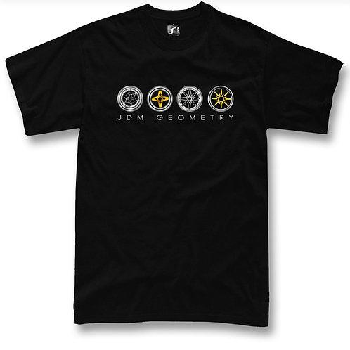 JDM Classic wheels t-shirt
