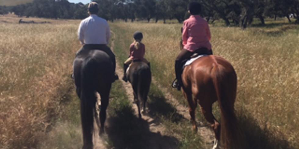 September 19th Trail Ride at KickOn Ranch