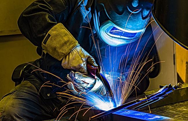 welder Industrial automotive part in fac