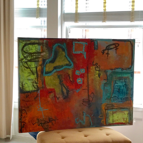 """Juxtaposed""(2015)"