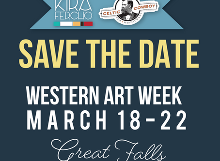 Save the Date for WESTERN ART WEEK!