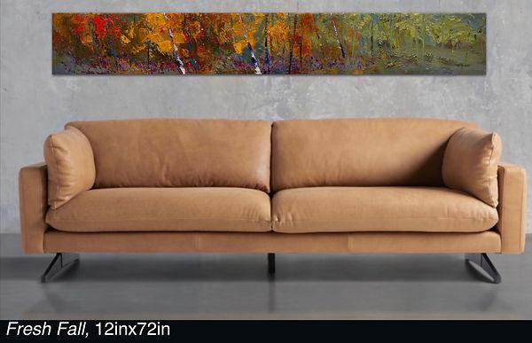 Fresh Fall, Original oil painting by Kira Fercho