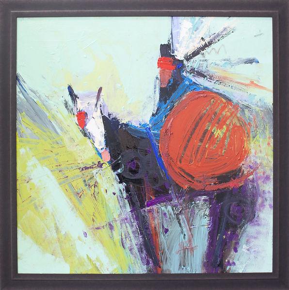 Kira Fercho original oil painting. Brave, oil on canvas $7995