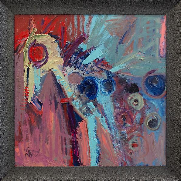Kira Fercho original oil painting. Crazy Horse, oil on canvas $7995