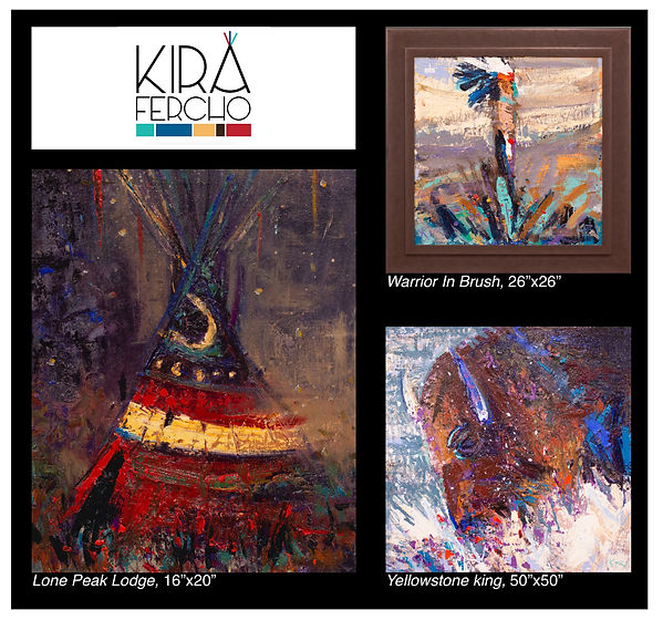 Kira Fercho Original Oil Paintings
