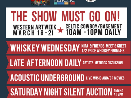 Silent Auction on Saturday during Western Art Week!