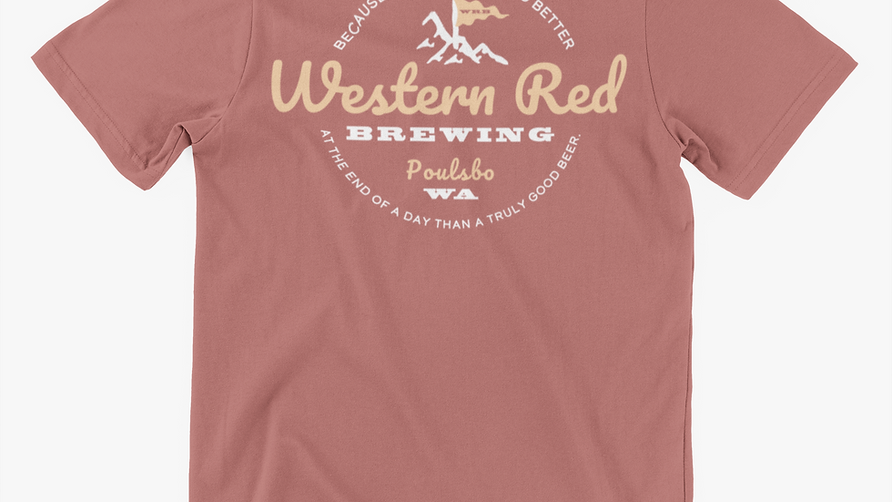 WRB Mountain Blush Unisex Short-Sleeve Tri-Blend T-Shirt