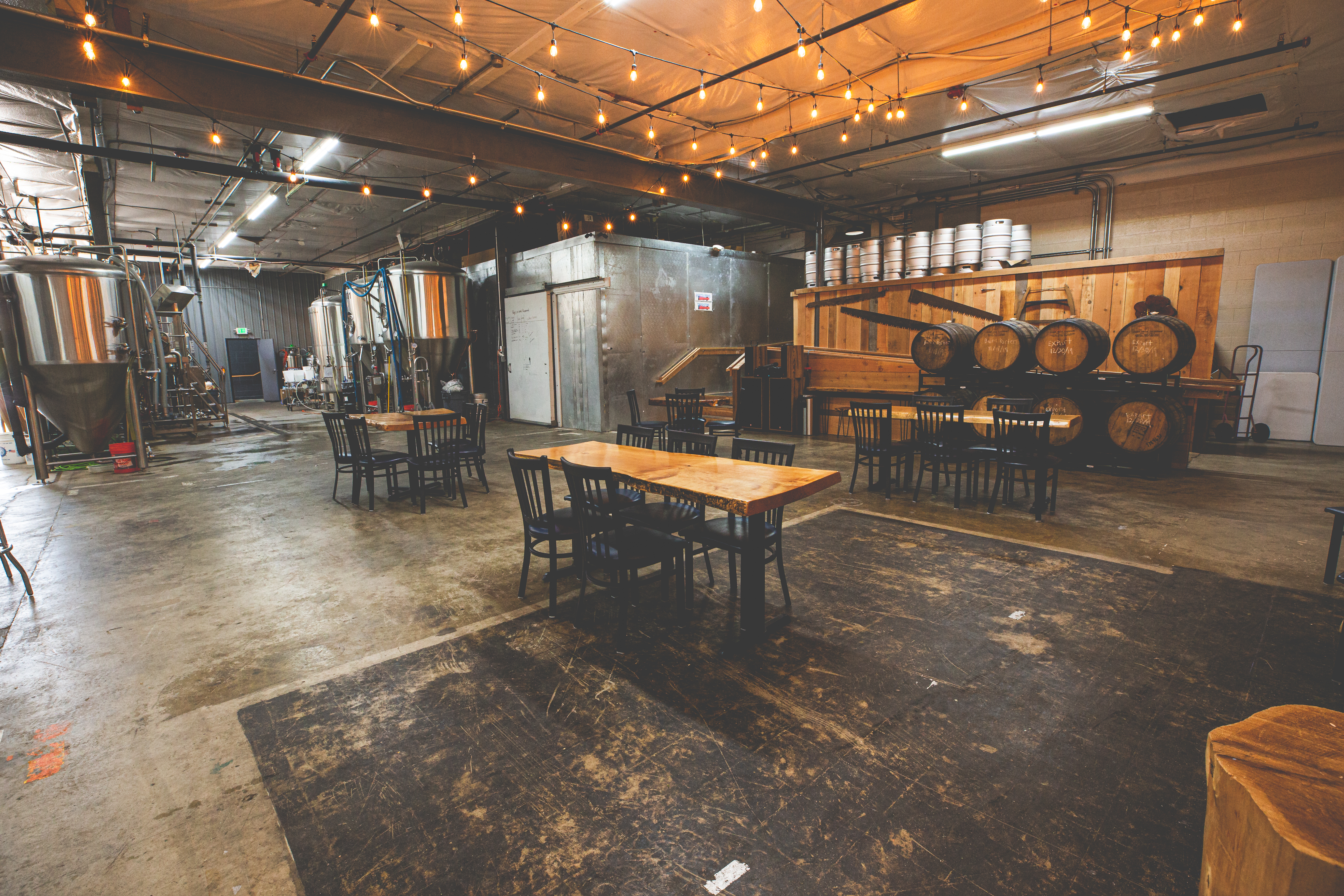 Western Red Brewing Events Room