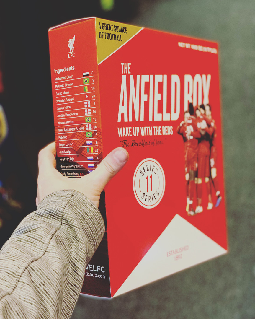 The Anfield Box 11: Breakfast Liverpool Football Club