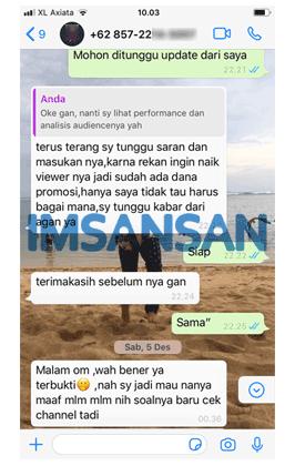 Chat dari WA