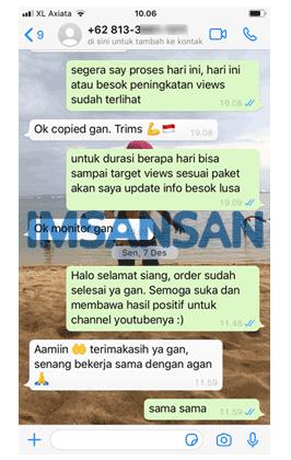 Testimoni imsansan.com