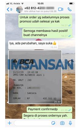 Chat WA imsansan