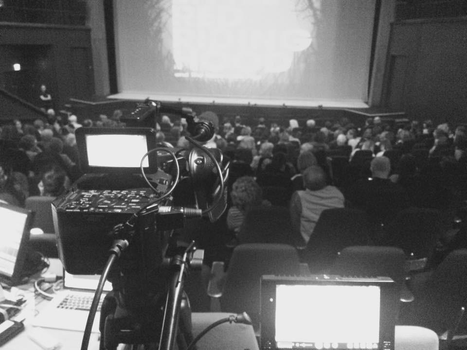 Ballet Cymru Camera set up