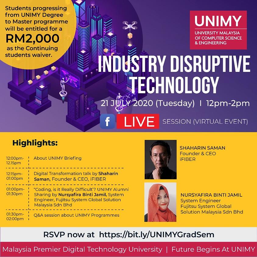 Industry Disruptive Technology