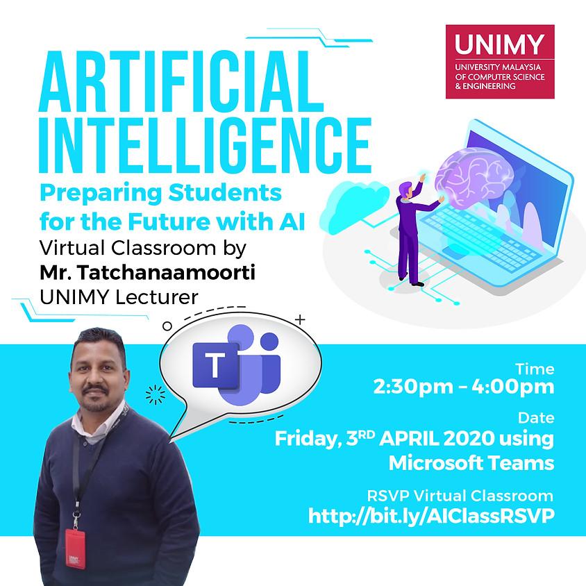Virtual Classroom: Artificial Intelligence