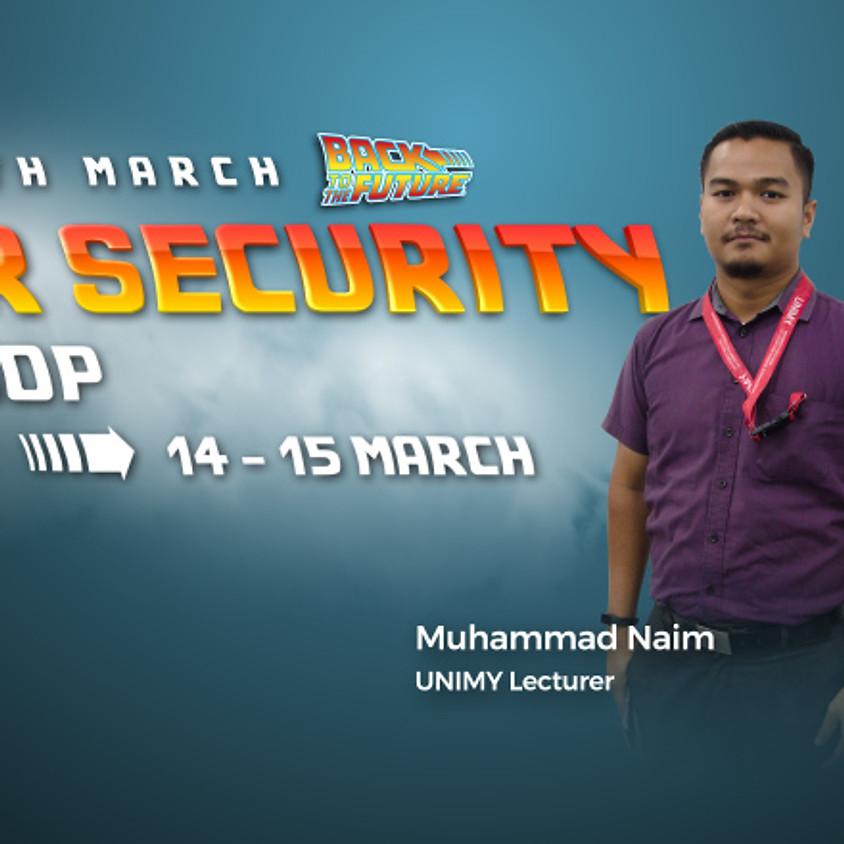 UNIMY Open day 14,15 Mar (Cybersecurity Workshop)