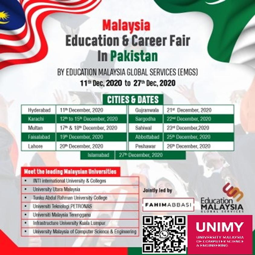 Malaysia Education & Career Fair In Pakistan