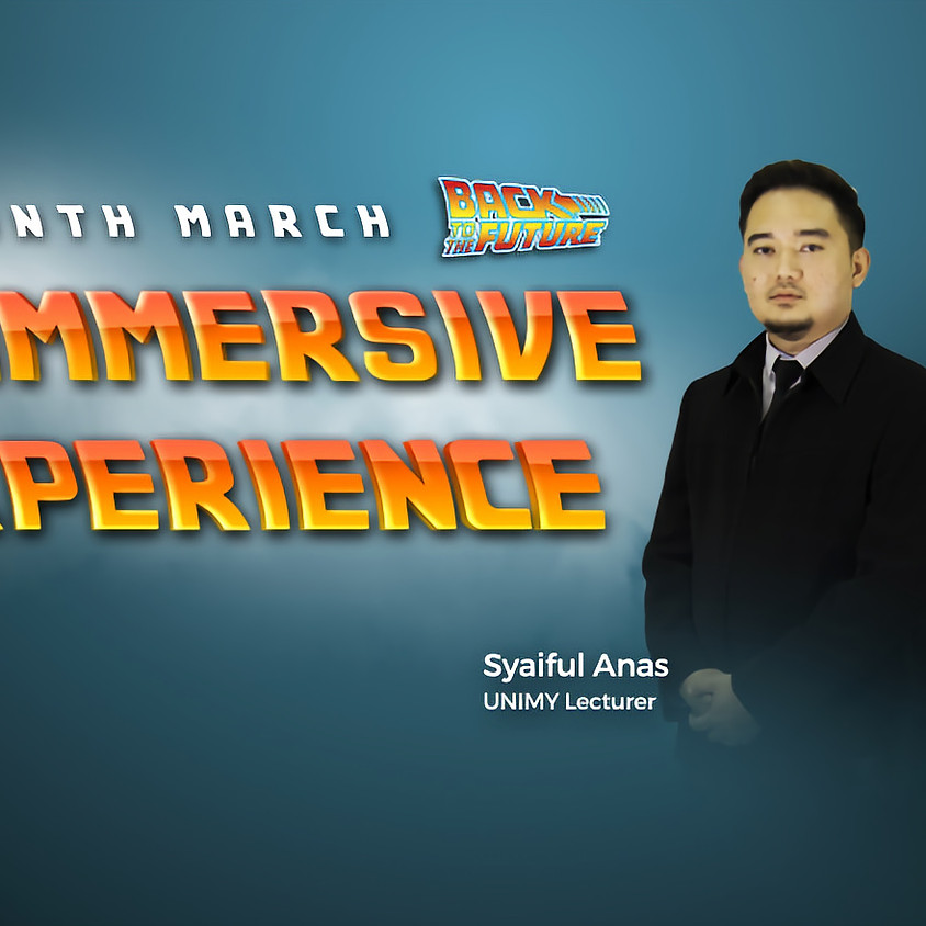UNIMY Open day 28,29 Mar (IoT Immersive Experience )